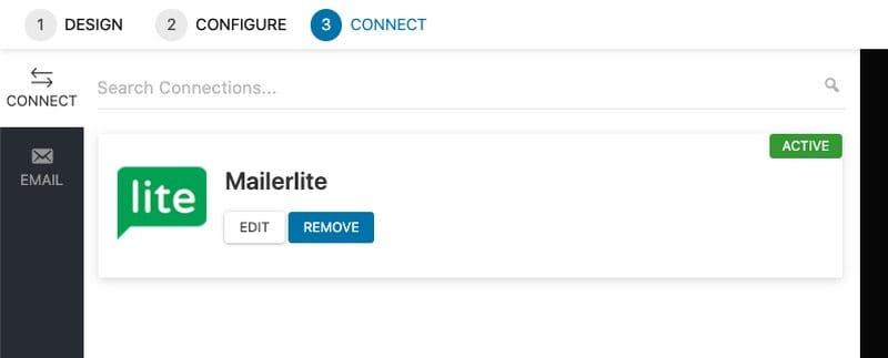 Convert pro mailerlite conexion