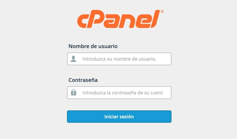 Acceso-cpanel-hosting