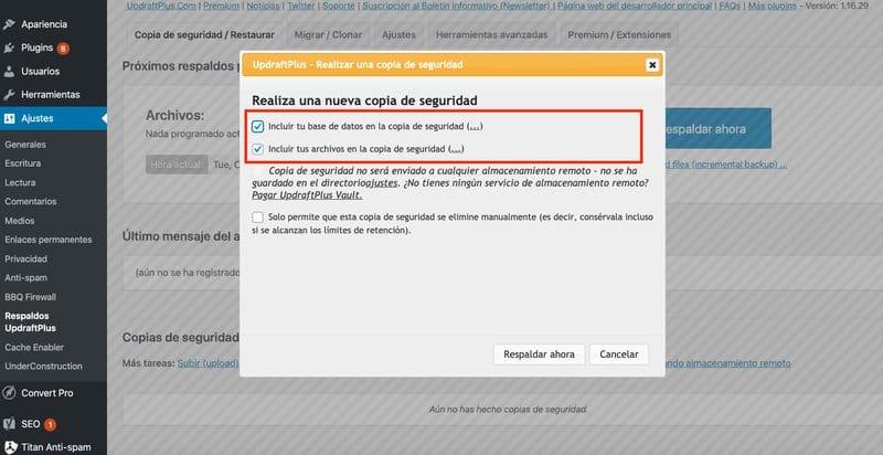 UpdraftPlus-tipo-de-copia-de-seguridad